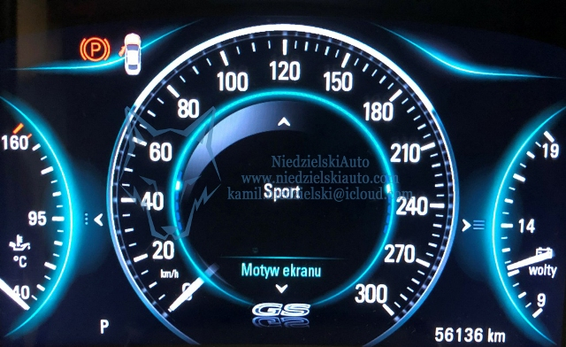 Opel Insignia IPC GS theme